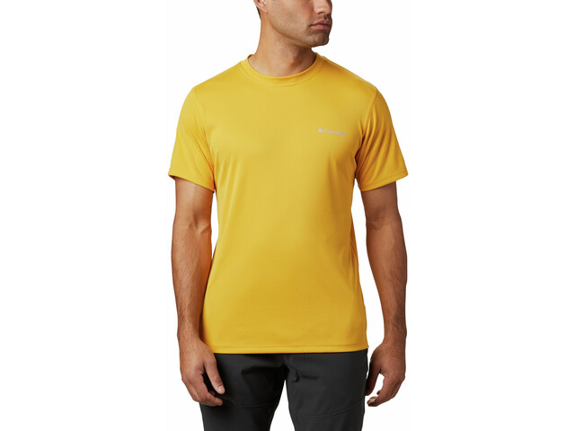 Columbia Zero Rules Chemise manches courtes Homme, bright gold